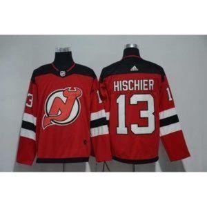 Men's New Jersey Devils Nico Hischier #13 Jersey